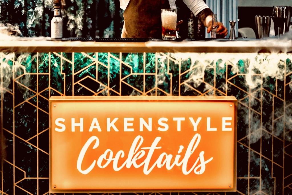 bar van shakenstyle, open voor los bar verhuur